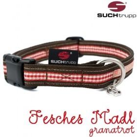"""Hundehalsband """"Fesches Madl""""  von SUCHtrupp"""