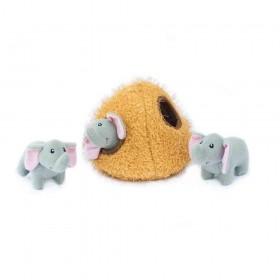 Hunde-Puzzle Elefanten-Höhle von Zippy Paws