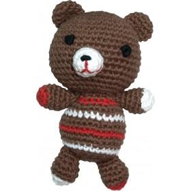 Handgehäkelter Teddybär von Pepper's Choice