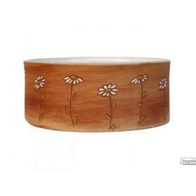 Keramik-Napf Blumenwiese